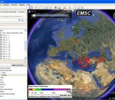 Mappa Ultimi Terremoti in Italia e nel mondo
